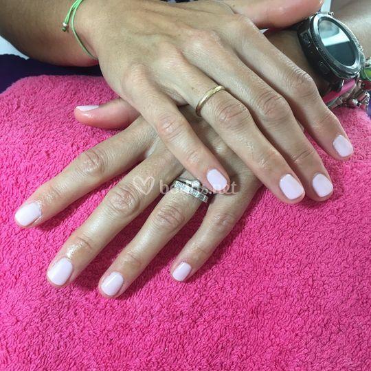 Esmalte permanente rosa french