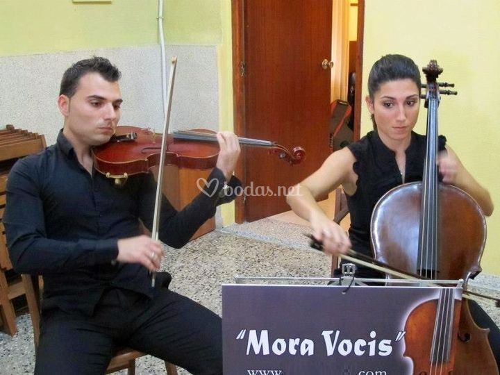 Duo de violín y violonchelo