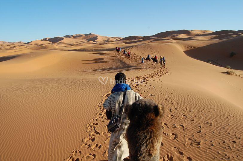 Escapada romántica a Sahara