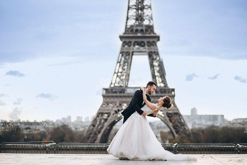 Viaje de novios a París