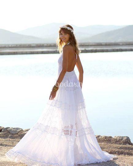 Vestidos novia ibicencos badalona