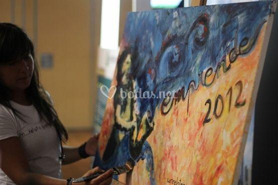 Pintura en directo