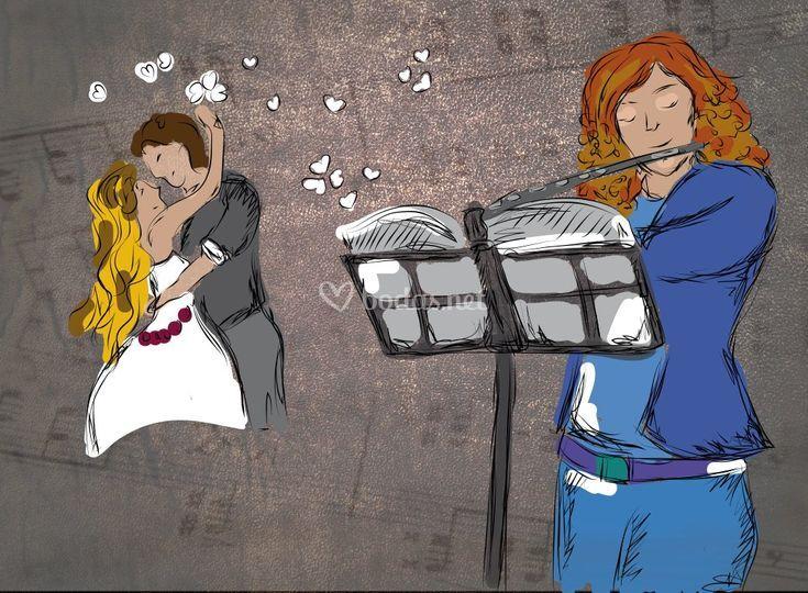 Un relato de amor ilustrado
