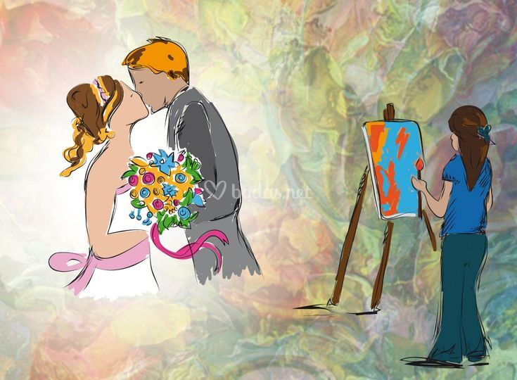 Pintando la historia de amor