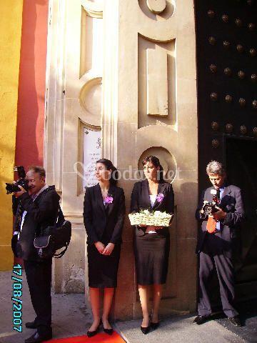 Azafatas en Sevilla Scala