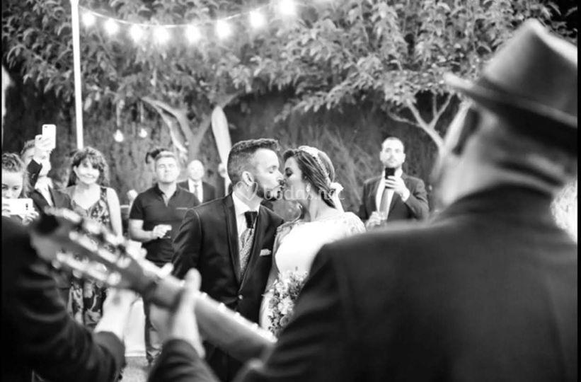 Sorpresa a la novia