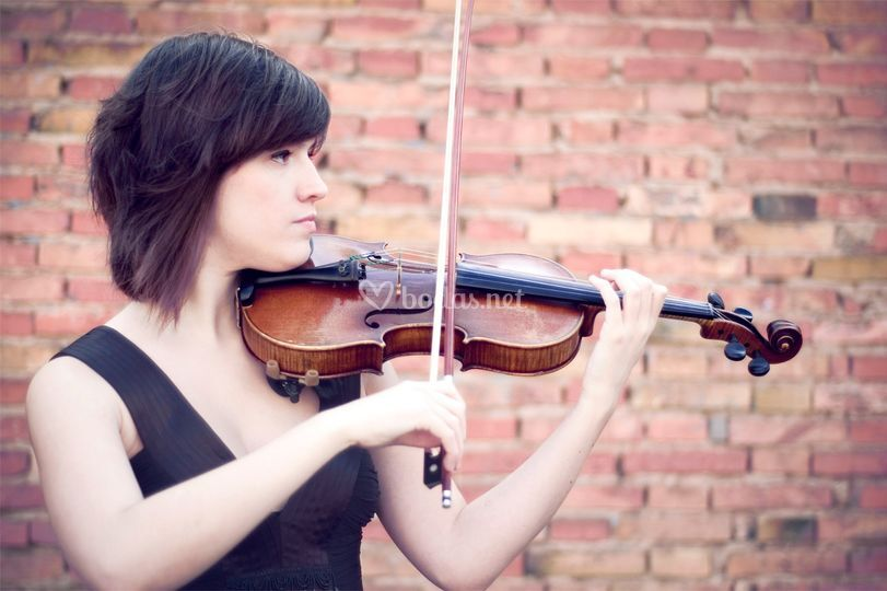 Violín: Marta León
