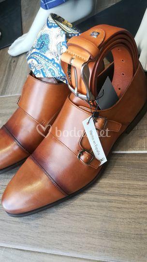 Calzado y corbata