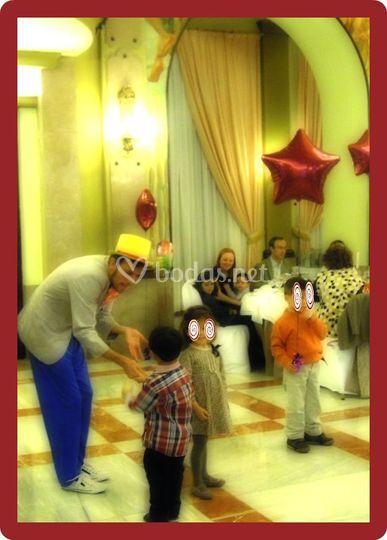 Fiesta en boda