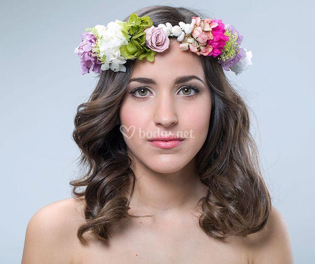 Corona de novia - mod.Hortensia