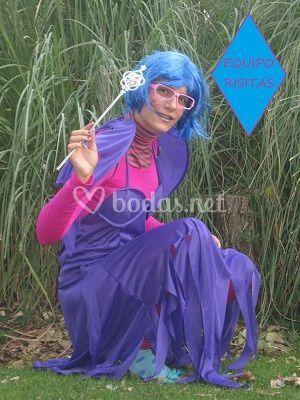 Duendecilla azul