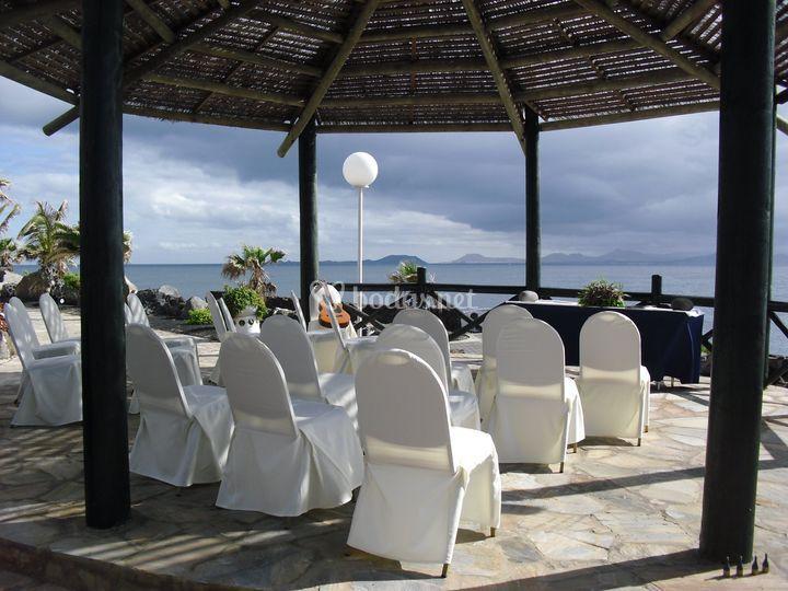 Ceremonia en Lanzarote...