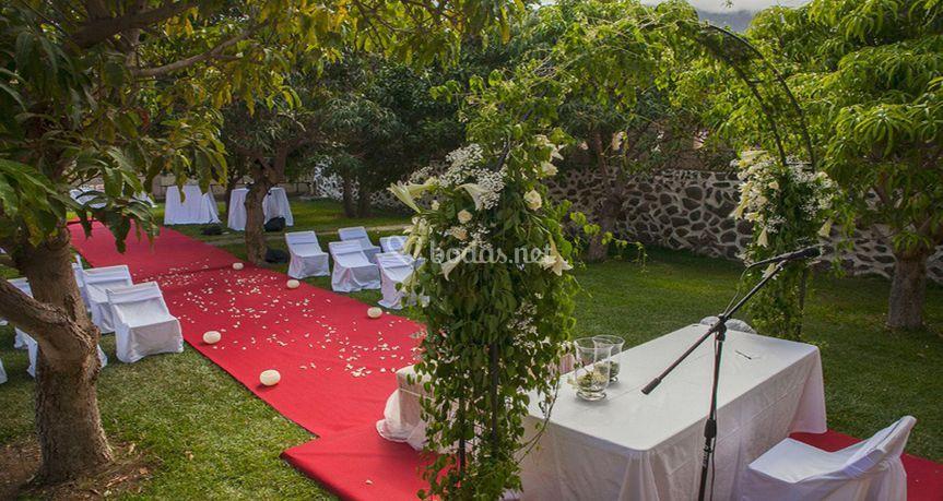 Ceremonia civil Tenerife