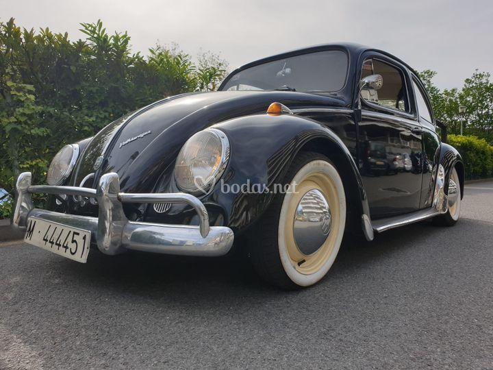 Escarabajo 1962 frontal