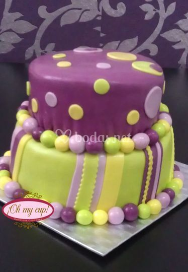 Una tarta nupcial distinta