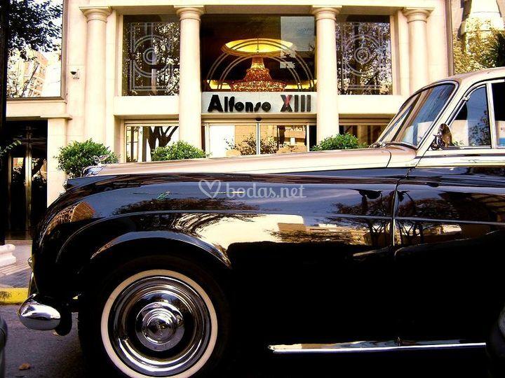 Servicio de coches de boda