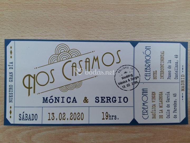Ticket - Entrada