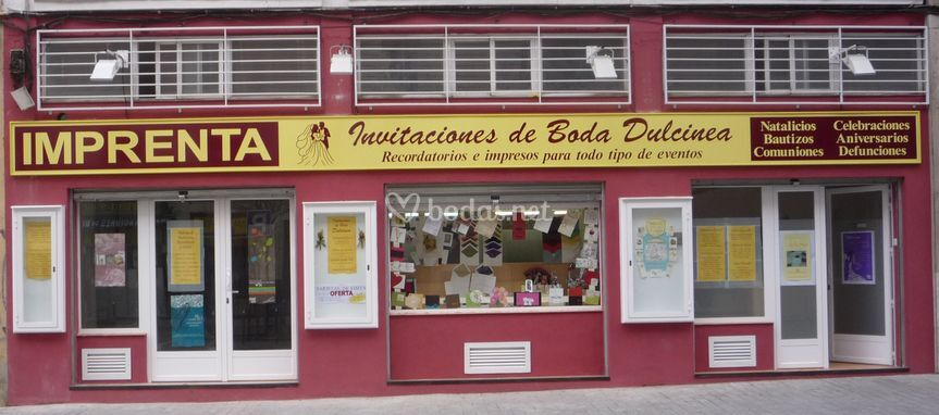 Tienda en Madrid.