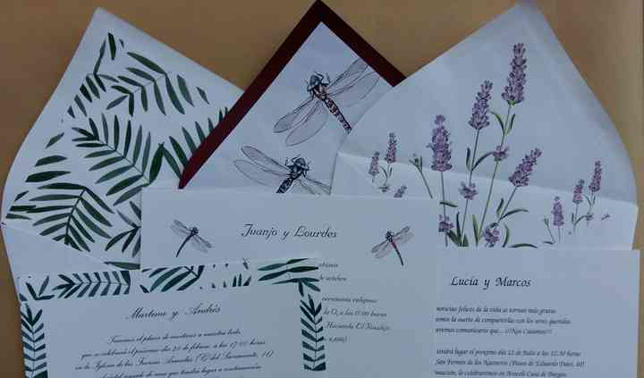 Invitaciones Natura