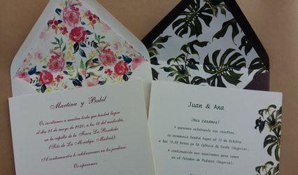 Invitaciones de boda Dulcinea 1