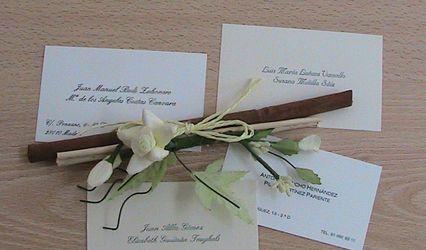 Invitaciones de boda Dulcinea 6