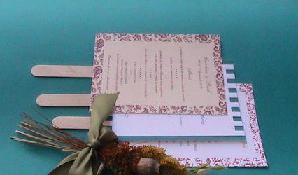Invitaciones de boda Dulcinea 3