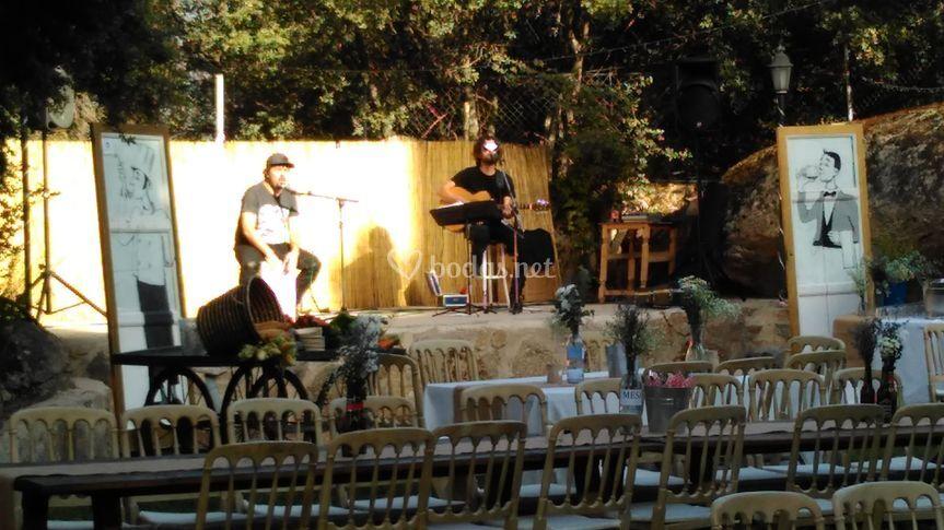 Grupo Musical en Pazo de Lama