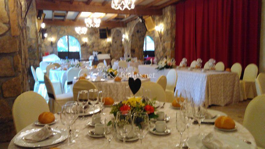 Banquete en el Pazo de Lama