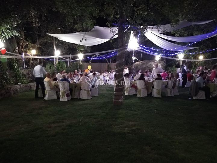 Banquete cena Pazo de Lama