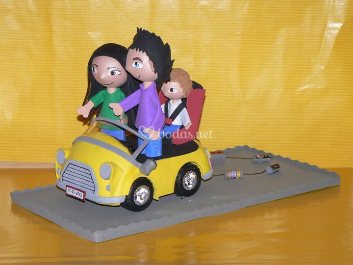 Novios y coche informales