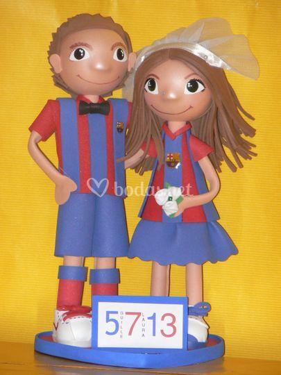 Fofuchas novios Barça