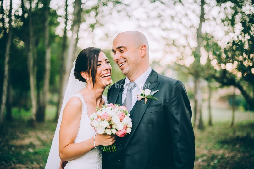 Una boda en plena naturaleza