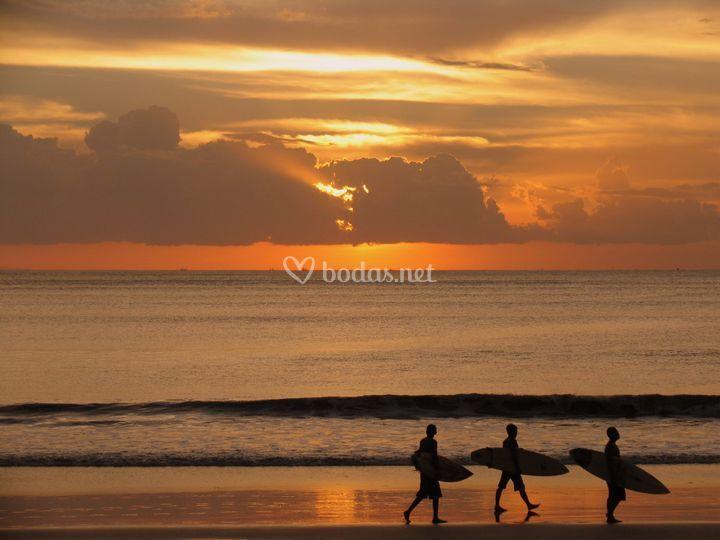 Playa de Jimbarán, Bali