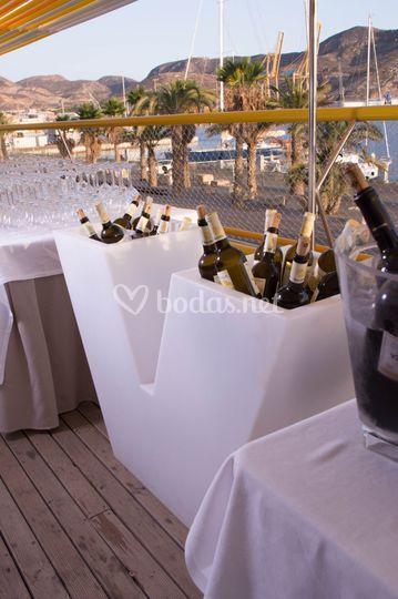 Estación de vinos