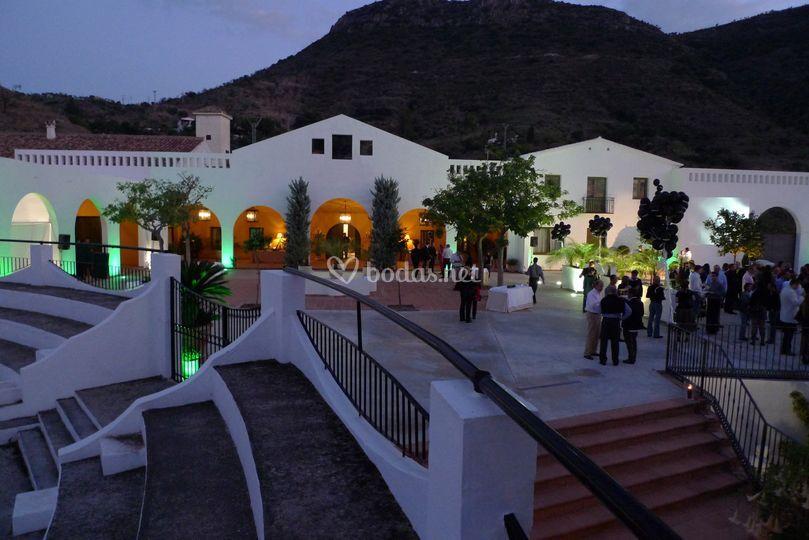 Exteriores de Hacienda La Biznaga