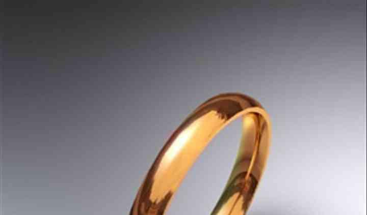 Alianza de boda oro rosa media caña 3mm