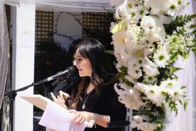 Sara Jiménez -  Maestra de Ceremonias