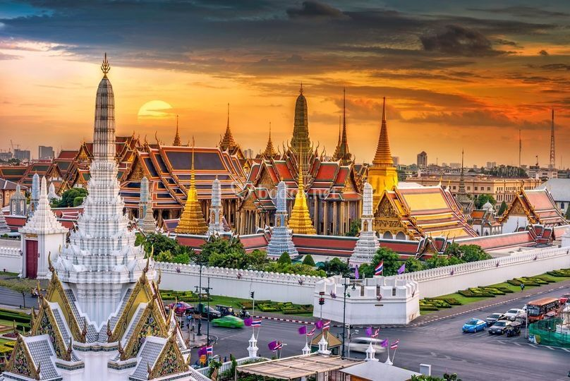 Gran Palacio de Bangkok, Talandiai