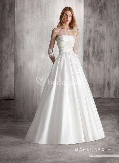 Vestidos novia manu garcia outlet