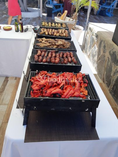 Barbacoa buffet