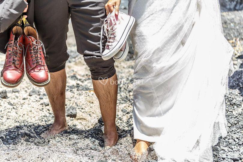 Descalzos
