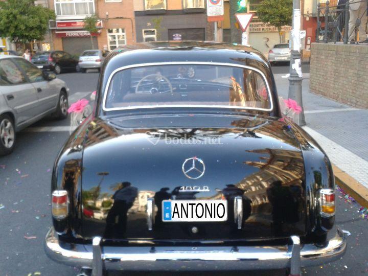 Mercedes ponton del 57