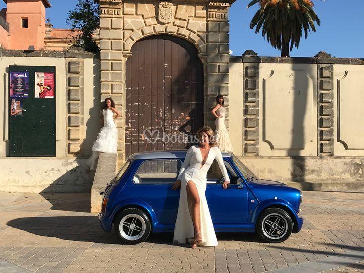 Tres novias en mini