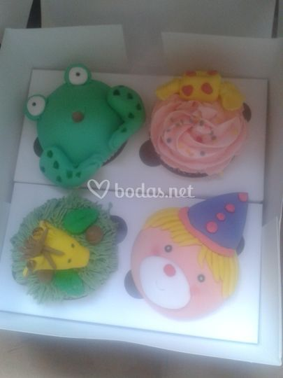 Cupcake infantiles