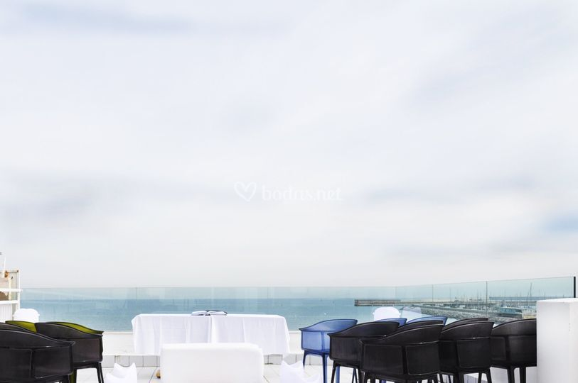 Una boda frente al mar