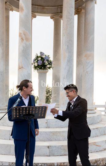Ceremonia Darío y Diana