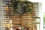 Mesa dulce con hojas de olivo