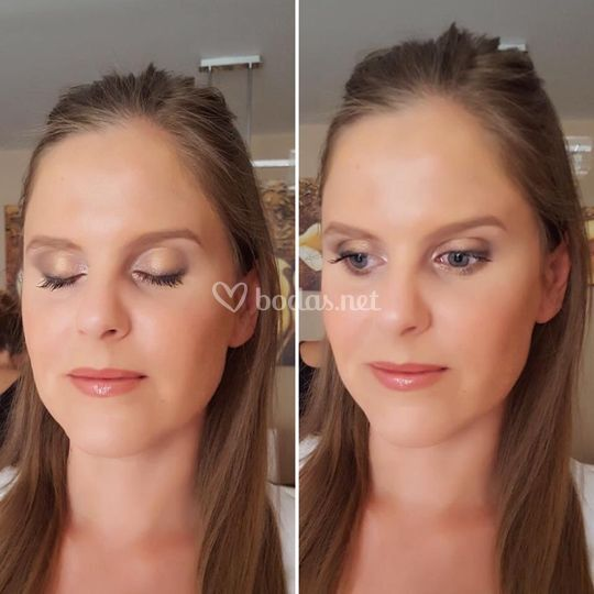 Maquillaje natural novia