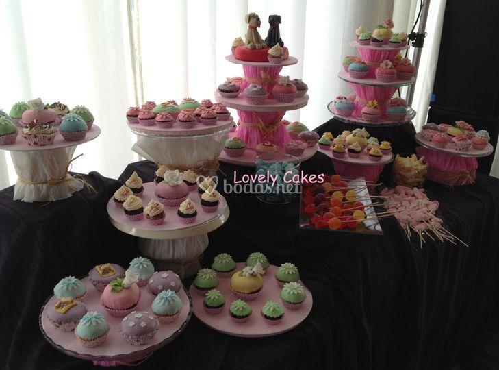 Recena cupcakes variadas