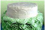 Tarta con rosas de buttercream